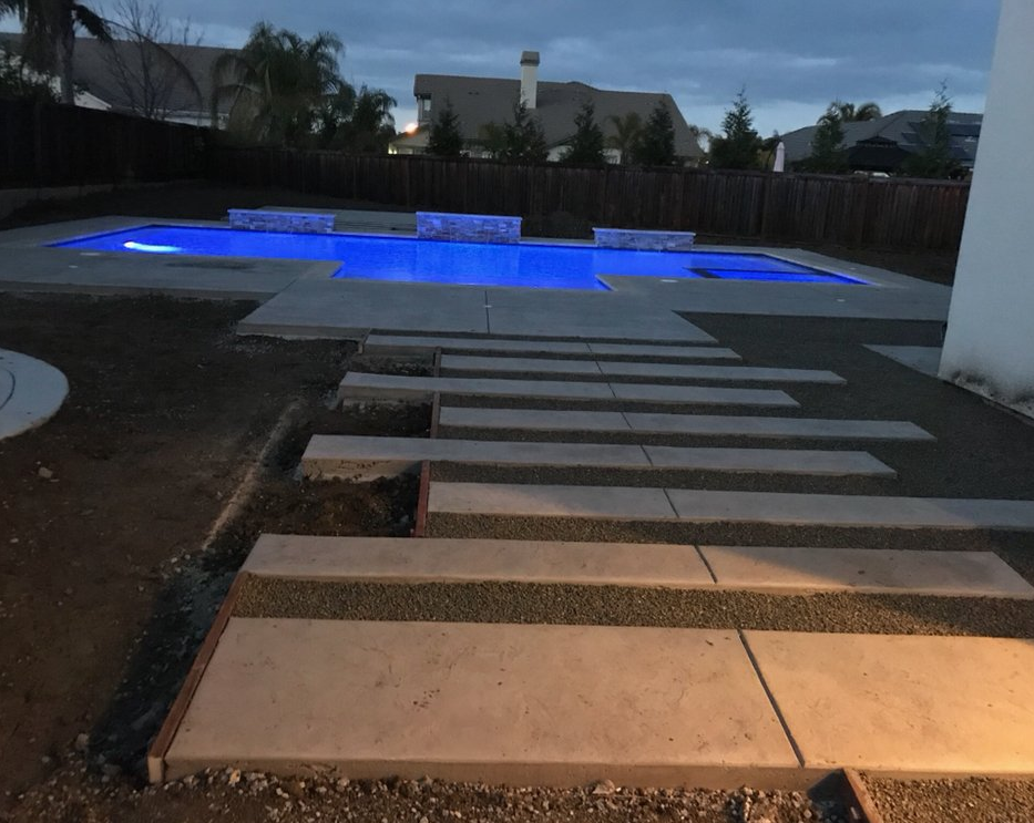 An image of concrete slab in Oxnard.