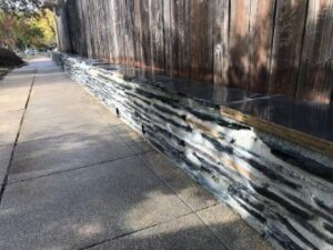 A picture of stone veneer in Oxnard.