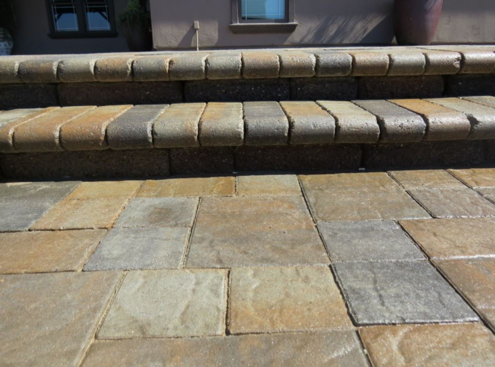 An image of stamped concrete in Oxnard.