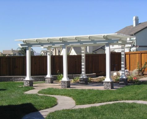 this is an image of concrete patios oxnard