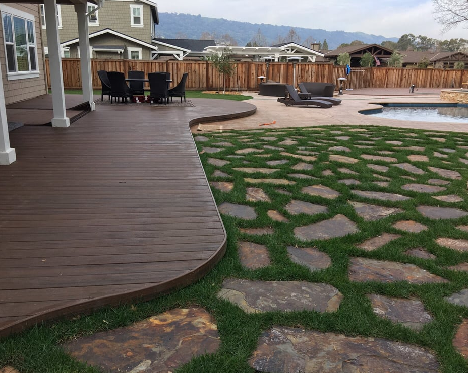 An image of concrete pavers in Oxnard.